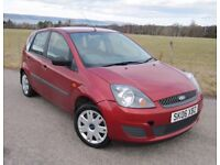 Ford Fiesta Style 1.4 ~ YEARS MOT ~ Service History ( 9 stamps ) VGC ~ 5 door ~ NOW £1,875