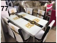 🎆🎇MAGA OFFER STYLISH BRAND NEW TURKISH DINING TABLE WITH 6 CHAIRS🎄🎄