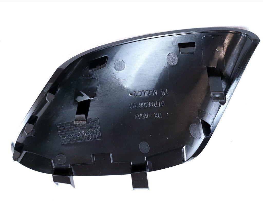 FIAT 500 /& Abarth Inferiore Specchio Trim Copertura Fuorigioco//mano destra NUOVO 735642839