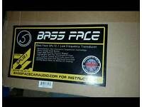 Bass face speaker