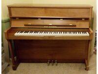 Steinberg Upright Piano in satin walnut cabinet - £1495 ono - Billericay, Essex
