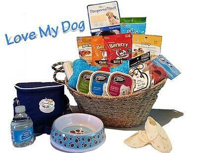 Dog Lovers Treats & Toys by Great Day Gift Baskets