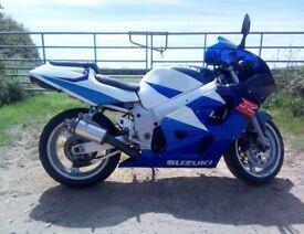 Suzuki GSX-R, 600cc S-RAD **LOW MILEAGE**