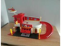 Fireman Sam Diecast Fire Station Playset