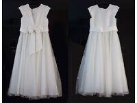 Cream pretty bridesmaid dress