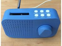 DAB Radio - batteries or USB powered - cable included