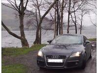 Audi TT S Line TDI (Diesel), 10-plate, 130K miles, Cruise Control, Parking Sensors, iPod dock