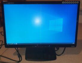 Prolite Pro E2208HDS 22 inch FHD VESA mountable CCTV Monitor DVI VGA Speaker 2ms Response time
