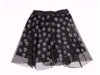 Stunning Ladies Skirt UK Size 10 - 12 in Black w/ Sexy Lace. Have been worn just once.