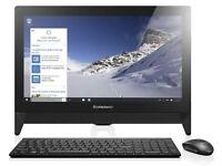 (LENOVO C20-00 PC WORKSTATION) DUAL CORE / INTEL CELERON) 4GB RAM- 500GB HDD (WINDOWS 10 HOME