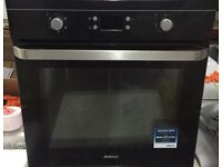 89 Beko Single Cavity Built In Integrated Oven and Grill 1 YEAR GUARANTEE FREE DEL N FIT