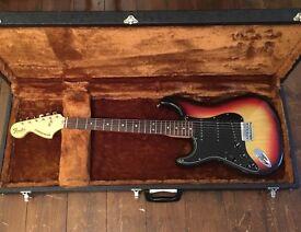 Left handed fender stratocaster 1977