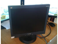 "ViewSonic VA703B 17"" LCD Monitor for desktop"