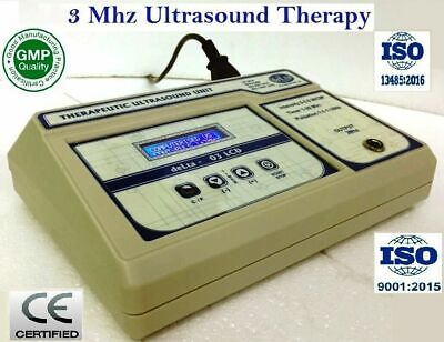New Model Ultrasound Therapy For Pain Relief Knee Back 3 Mhz Delta 03 Machine
