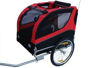 BRAND NEW FOLDABLE DOG / PET BICYCLE BIKE TRAILER DOG TRAILER Auburn Auburn Area Preview