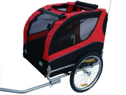 BRAND NEW FOLDABLE DOG / PET BICYCLE BIKE TRAILER DOG TRAILER