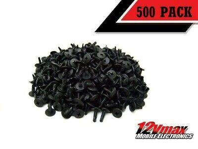 500 Self Tappingdrilling Black Phosphate Screws 12 Phillips Truss Head Waffer