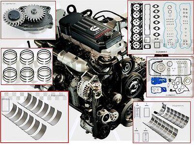 2003 - 2009 24v Dodge Cummins 5.9 Diesel engine Rering Rebuild kit + oil pump