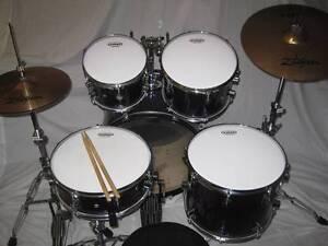 5 pce PDP EX Series Oak-Beech Drum Kit w/Zildjian Cymbals -As New Coburg Moreland Area Preview