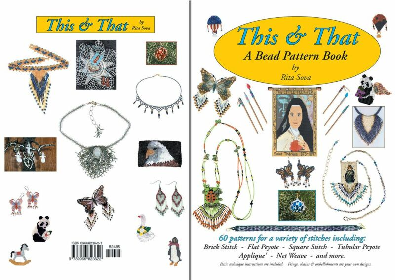 THIS & THAT a Bead Pattern Book by Rita Sova ISBN 09668236-2-1