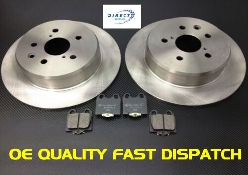 LEXUS IS200 GS300 REAR BRAKE DISCS AND & PADS 99-05