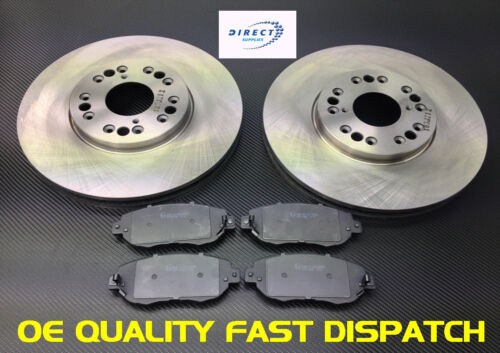 LEXUS IS200 FRONT BRAKE DISCS AND PADS 99-05 OE QUALITY
