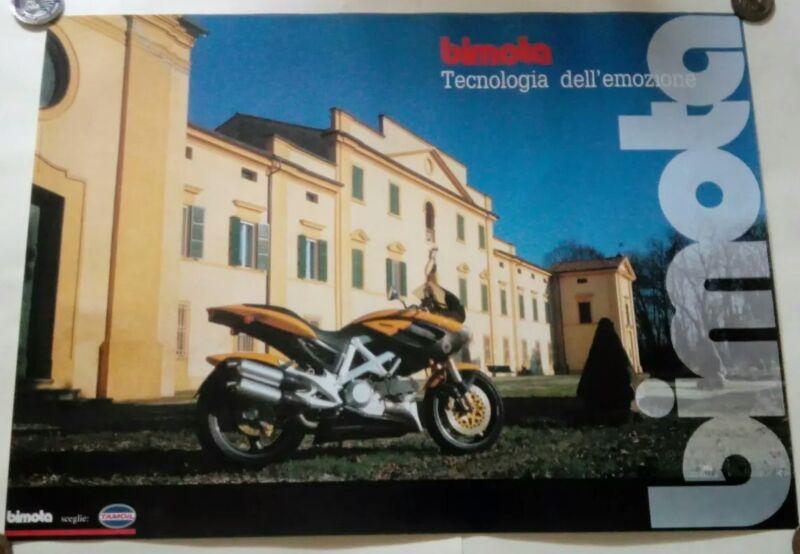 1998 BIMOTA DB3 MANTRA ITALY MOTORCYCLE DUCATI 900 POSTER SUPERBIKE RACE 19X27