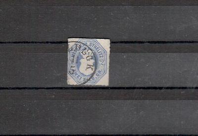 Mecklenburg-Strelitz Michelnummer 5 gestempelt (intern: 308)