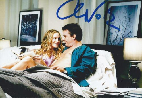 Chris Noth autograph-signed Law & Order Sex & The City Actor Rare COA LOOK!