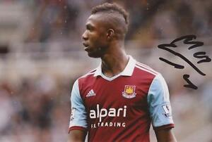 WEST-HAM-MODIBO-MAIGA-SIGNED-6x4-ACTION-PHOTO-COA