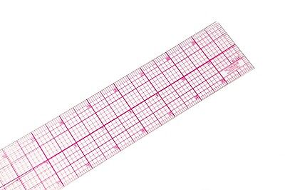 C-thru W-248 24 8ths Graph Rulers,clear,plastic,great For Pattern Making & More