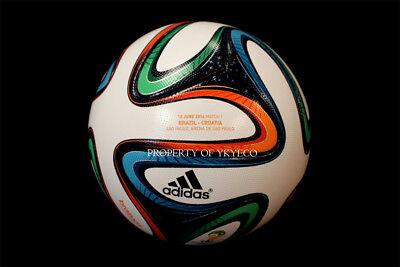 ADIDAS SOCCER MATCH BALL BRAZUCA FOOTBALL OMB FIFA WORLD CUP BRAZIL CROATIA 2014