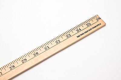 Yard Stick Wood Ruler 36