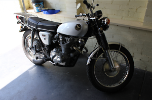 1969 Honda CL450 Scrambler Diamond Creek Nillumbik Area Preview