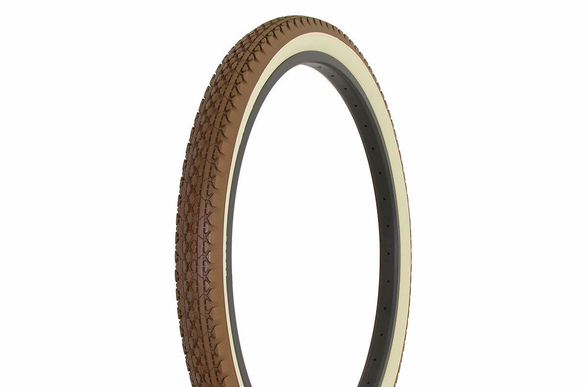 New! DURO 26 x 2.125 Vintage Tire BlCYCLE TlRE Diamond Style