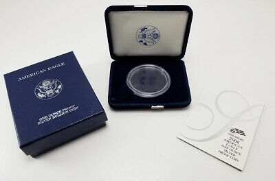 2006 American Silver Eagle One Ounce Proof Presentation OGP Box w/ COA (NO COIN) Coin Box Coa No Coins