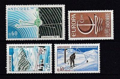 Andorra französisch postfrisch Jahrgang 1966