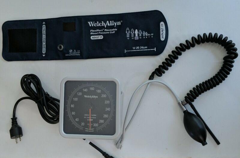 Blood Pressure Wallmount Welch -Allen With Accessories
