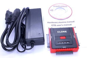 HDD Clone Cloning Upgrade Kit Duplicator USB 2.0 to SATA Cable Converter Adapter