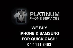 SELL YOUR NEW & USED iPHONE & GALAXY FOR QUICK CASH! Southport Gold Coast City Preview