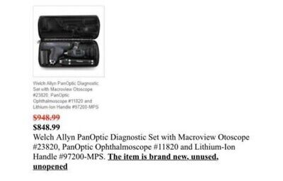 Welch Allyn Panoptic Diagnostic Set