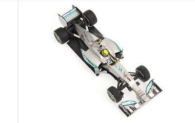 1:43 Mercedes W03 Rosberg China 2012 1/43 • MINICHAMPS 410120108 #