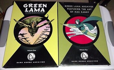 GREEN LAMA Volume 1 & 2 Mac Raboy Dark Horse Archives Complete Hardcover HC NEW!