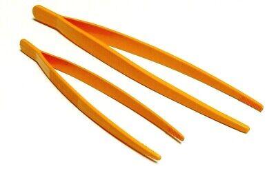 Plastic Tweezers Set Of 2 Forceps General Purpose Tweezer Plastic 7 10 Long