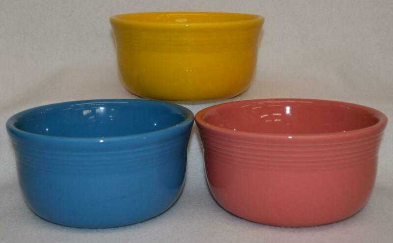 Fiesta® GUSTO BOWLS - Choice of Discontinued & Current Colors