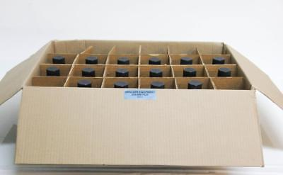 Kimble 61100-500 Kimax Media Laboratory Bottles 500ml W Black Caps New 5813