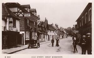 High Street Great Missenden Nr Amersham High Wycombe unused RP pc WHS Kingsway