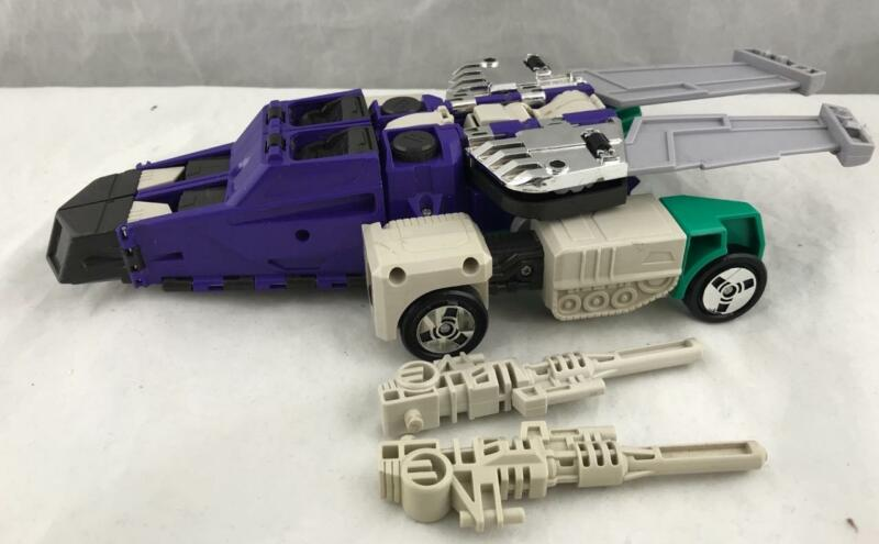 Transformers Original G1 1987 Six Changer Multi-challenge Sixshot Complete