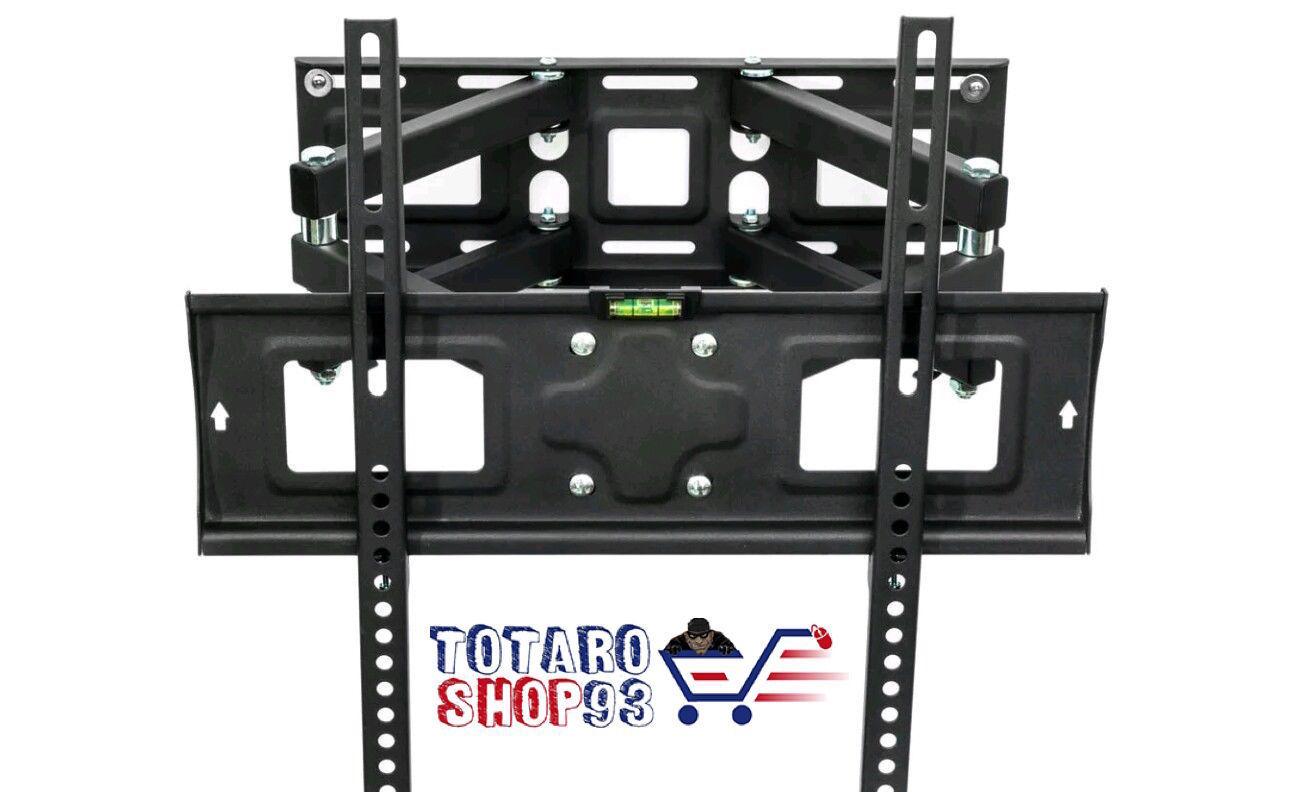 STAFFA TV PARETE MUTO TV LCD TFT LED PER TV PLASMA DA 26 FINO A 55 POLLICI