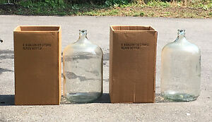 Wine making kit  - including two 6 gallon glass carboys - set